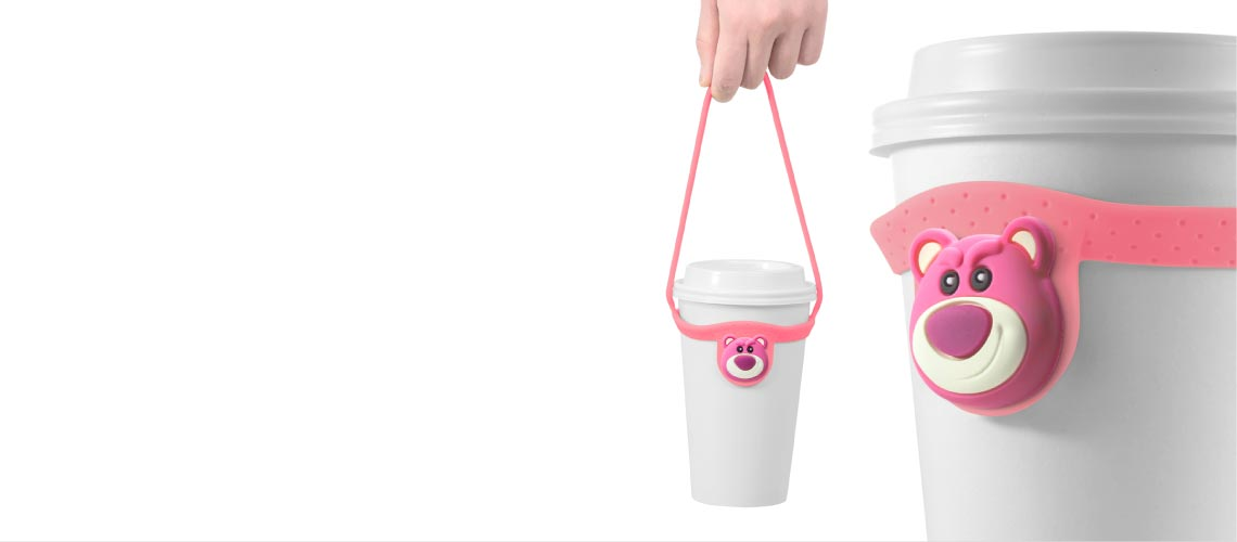 Cup Tie環保杯綁,新樣式環保飲料提袋