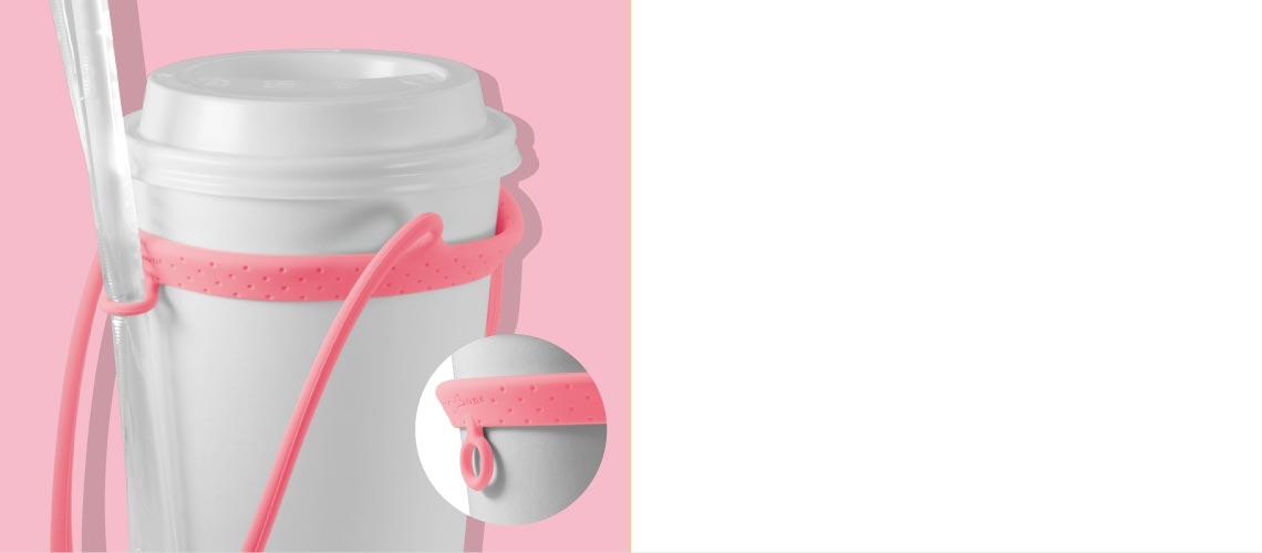 吸管環設計適合各種吸管