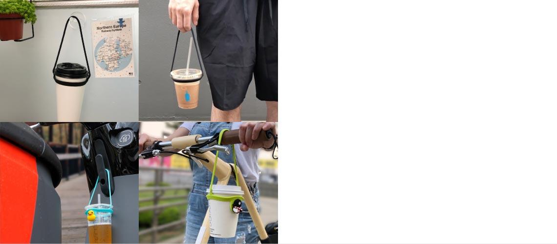 輕鬆帶著走的環保飲料提袋