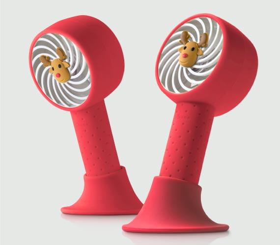 頸掛桌立風扇可多角度調整