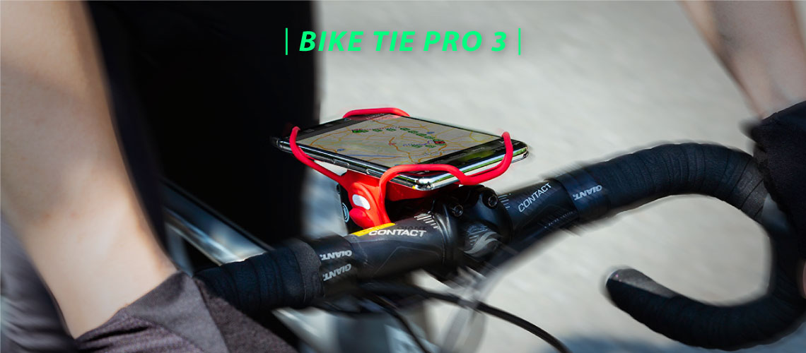 Ultra L/éger Con/çu pour Les v/élos de Route /Écran de Smartphone de 5.8 /à 7.2 Course et cyclotourisme Montage sur Potence de v/élo Bone Bike Tie Pro 3 Support de t/él/éphone Compatible avec Face ID